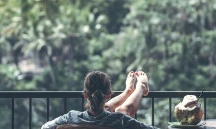 Husker du at nyde livet, og at slappe af en gang imellem?