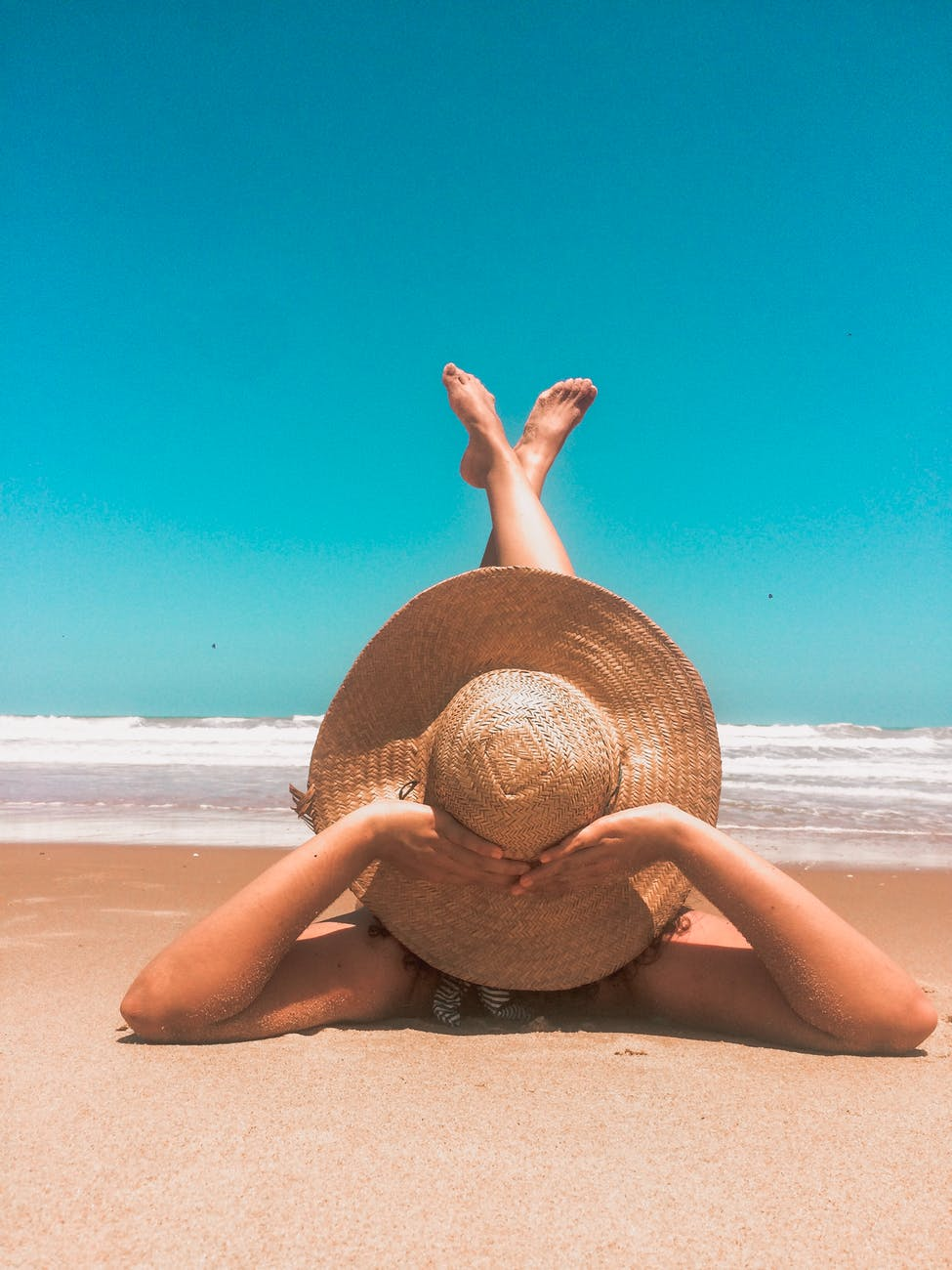Afslapning i ferien